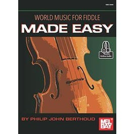 Mel Bay World Music for Fiddle Made Easy (Book + Online Audio)