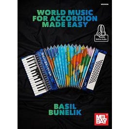 Mel Bay World Music for Accordion Made Easy (Book + Online Audio)