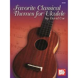 Mel Bay Favorite Classical Themes for Ukulele (Book)