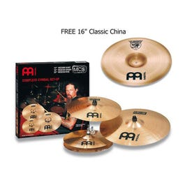 """Image for MCS Series 3-Piece Cymbal Pack with Free 16"""" Classic China from SamAsh"""