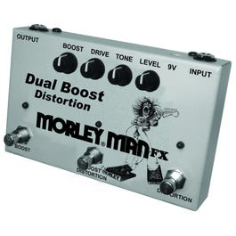 Image for Morley Man FX Dual Boost Effect Pedal from SamAsh