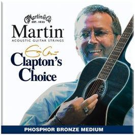 Image for Clapton's Choice Phosphor Bronze Medium Acoustic Guitar Strings (13-56) from SamAsh