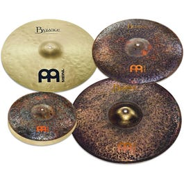 """Image for Mike Johnston Byzance Cymbal Pack w/ Free 18"""" Extra Dry Thin Crash from SamAsh"""