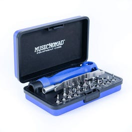 MusicNomad MN229 Premium Guitar Tech Screwdriver and Wrench Set