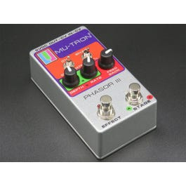 Image for Phasor III Vintage Silver Optical Analog Phase Guitar Effects Pedal from SamAsh