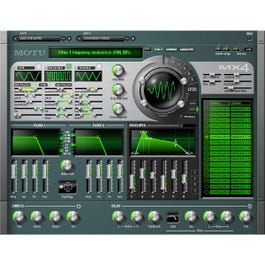 Image for MX4 Version 2 Multi Synthesizer Virtual Instrument (Mac Only) from SamAsh