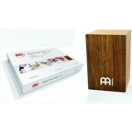 Meinl Percussion Make Your Own Cajon Pack with Ovangkol Frontplate