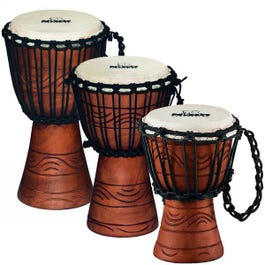 Image for Original African Style Rope Tuned Wood Djembe (Assorted Sizes) from SamAsh