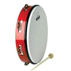 """Image for 10"""" ABS Hand Drum w/ Jingles (Red) from SamAsh"""
