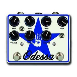Mojo Hand FX Odessa Dual Channel Overdrive Guitar Effects Pedal