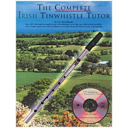 Image for The Complete Irish Tinwhistle Tutor With CD from SamAsh