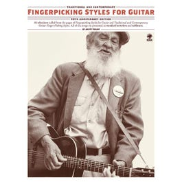 Image for Fingerpicking Styles For Guitar (40th Anniversary Edition) from SamAsh