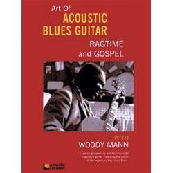 Image for The Art Of Acoustic Blues Guitar Ragtime and Gospel (Book and DVD) from SamAsh