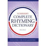 Hal Leonard Schirmer's Complete Rhyming Dictionary