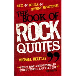 Image for Book Of Rock Quotes (Paperback) from SamAsh