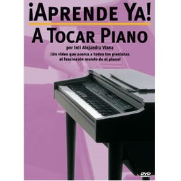 Image for ¡Aprende Ya! Tocar Piano DVD Edition from SamAsh