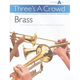 Image for Three's A Crowd Brass Junior Book A from SamAsh