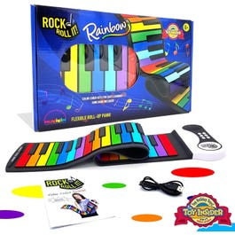 MUKIKIM Rock and Roll It Play-by-Color Rainbow Piano