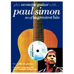 Image for Play Acoustic Guitar With Paul Simon Book & CD from SamAsh