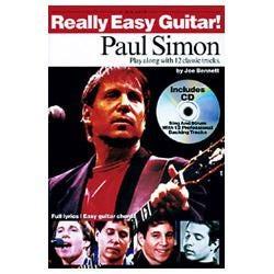 Image for Really Easy Guitar: Paul Simon (Book & CD) from SamAsh