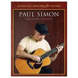 Image for Paul Simon Acoustic Masters for Guitar (TAB) from SamAsh