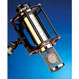 Image for Gold Reference Multi Pattern Tube Condenser Microphone from SamAsh