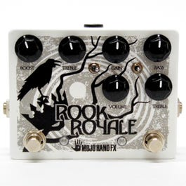 Mojo Hand FX Rook Royale Dual Overdrive/Preamp Guitar Effects Pedal