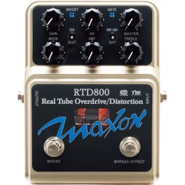 Image for RTD800 Real Tube Overdrive-Distortion Guitar Effects Pedal from SamAsh
