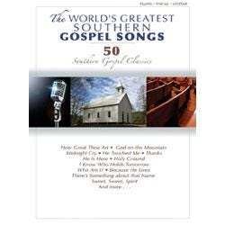 Image for The World's Greatest Southern Gospel Songs (Piano/Vocal/Guitar) from SamAsh