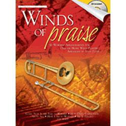 Image for Winds of Praise (Trombone) (Book and CD) from SamAsh