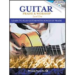 Image for Guitar Praise & Worship Level 1 (Book and DVD) from SamAsh