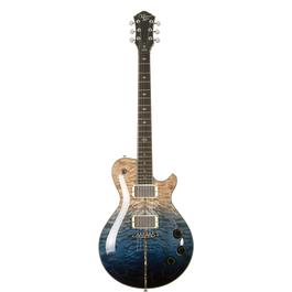Michael Kelly Mod Shop Patriot Instinct Bare Knuckle Electric Guitar(Blue Fade)