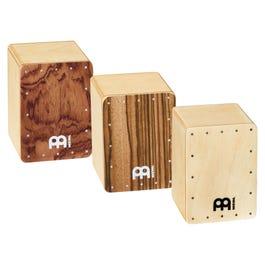Meinl Percussion 3-Piece Mini Cajon Shaker Set