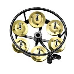 Image for Hihat Tambourine Solid Brass from SamAsh