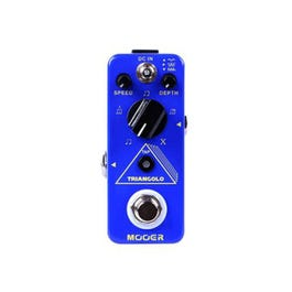 Image for Micro TRIANGOLO Digital Tremolo Guitar Effects Pedal from SamAsh