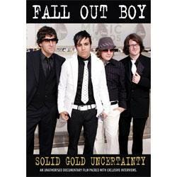 Image for Fall Out Boy Solid Gold Uncertainty (DVD) from SamAsh