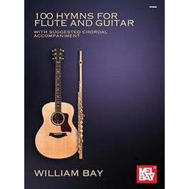 Mel Bay 100 Hymns for Flute and Guitar (Book)