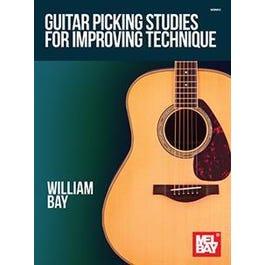 Mel Bay Guitar Picking Studies for Improving Technique (Book)
