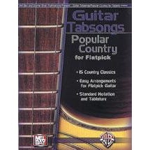 Image for Guitar Tabsongs - Popular Country For Flatpick from SamAsh