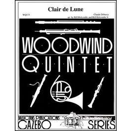 Charles Dumont & Son Debussy -Clair de Lune-Woodwind Quintet