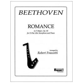 Carl Fischer Beethoven-Romance in F, Op. 50 - Alto Saxophone with Piano