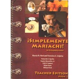 Image for Mariachi-Simplemente Teacher's Edition Book 1 + Audio from SamAsh