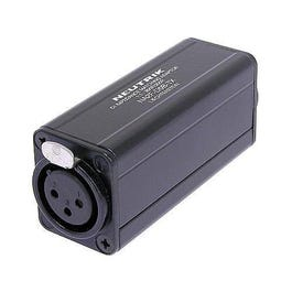 Neutrik NA2F-D0B-TX -XLR Female to RCA/ Phono Socket, Black