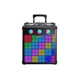Image for Party Mix Pro DJ Controller with Built-In Light Show & Portable Speaker from SamAsh