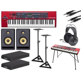 Image for Wave 2 Synthesizer with Stands, Monitors, Headphones, Cables, and Isolation Pads from SamAsh