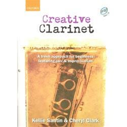 Image for Creative Clarinet (Book and CD) from SamAsh