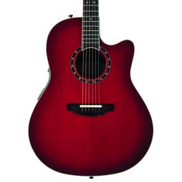 Image for Timeless Balladeer Deep Contour Acoustic-Electric Guitar from SamAsh