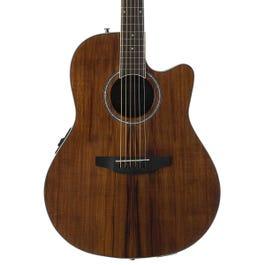 Image for Balladeer Plus Koa AB24IIP-KOA Mid-Depth Acoustic-Electric Guitar from SamAsh