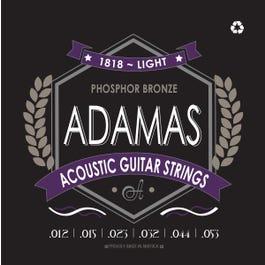 Image for Adamas Phosphor Bronze Acoustic Guitar Strings (Assorted Gauges) from SamAsh