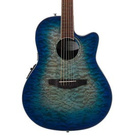 Image for CS28P Celebrity Plus Super Shallow Quilted Maple Acoustic-Electric Guitar from SamAsh
